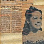 Louise Tobin Article 1939